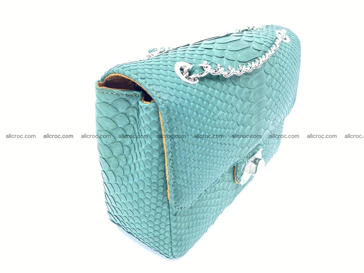 Python snakeskin shoulder bag 1082 Foto 3