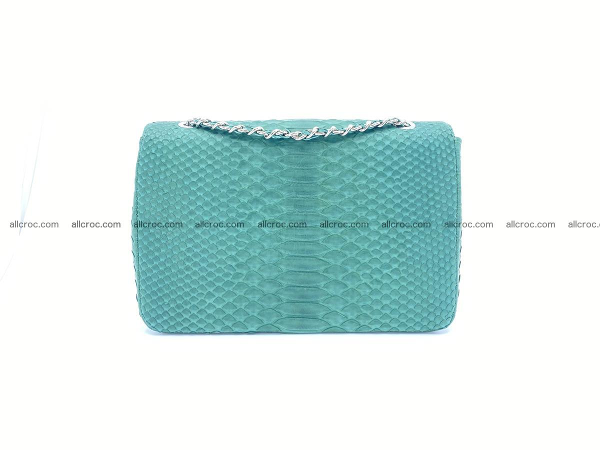 Python snakeskin shoulder bag 1082 Foto 1