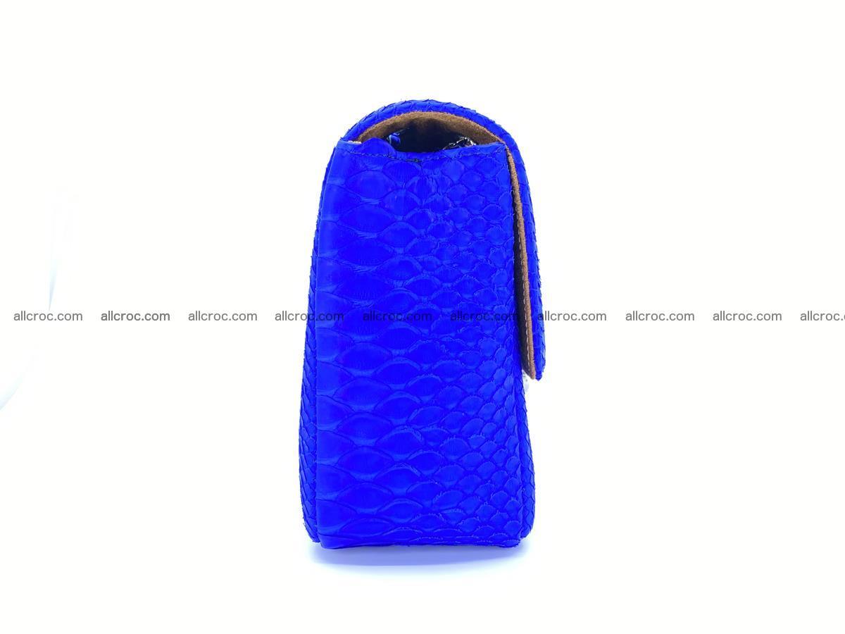 Python snakeskin shoulder bag 1081 Foto 9
