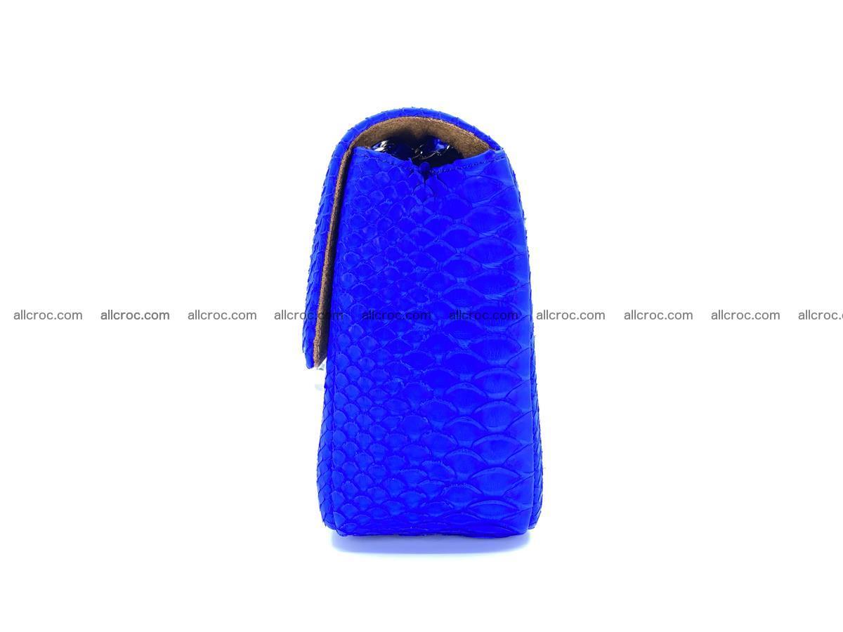 Python snakeskin shoulder bag 1081 Foto 10