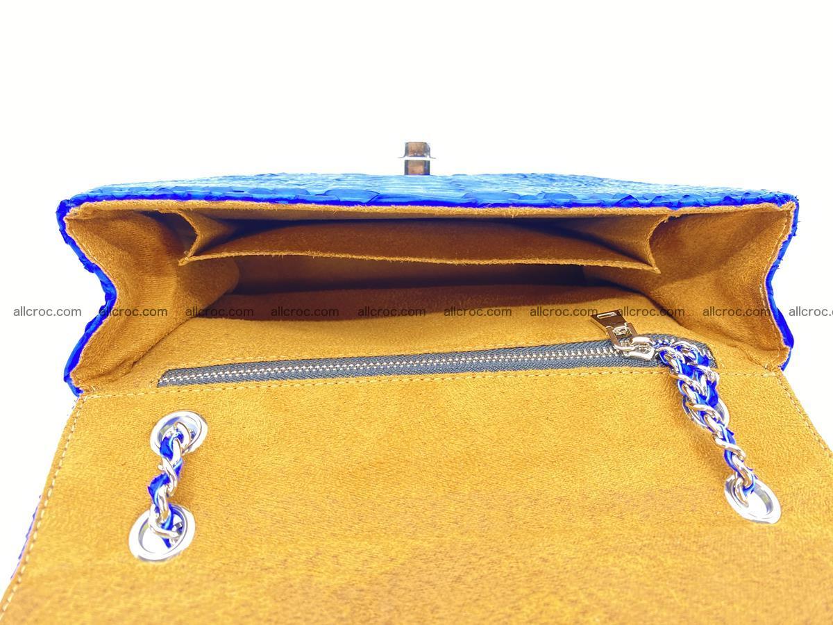 Python snakeskin shoulder bag 1081 Foto 15