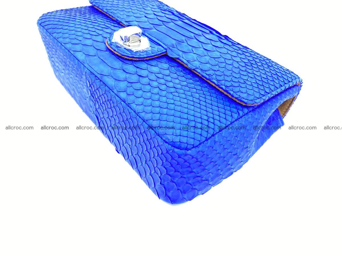 Python snakeskin shoulder bag 1081 Foto 6