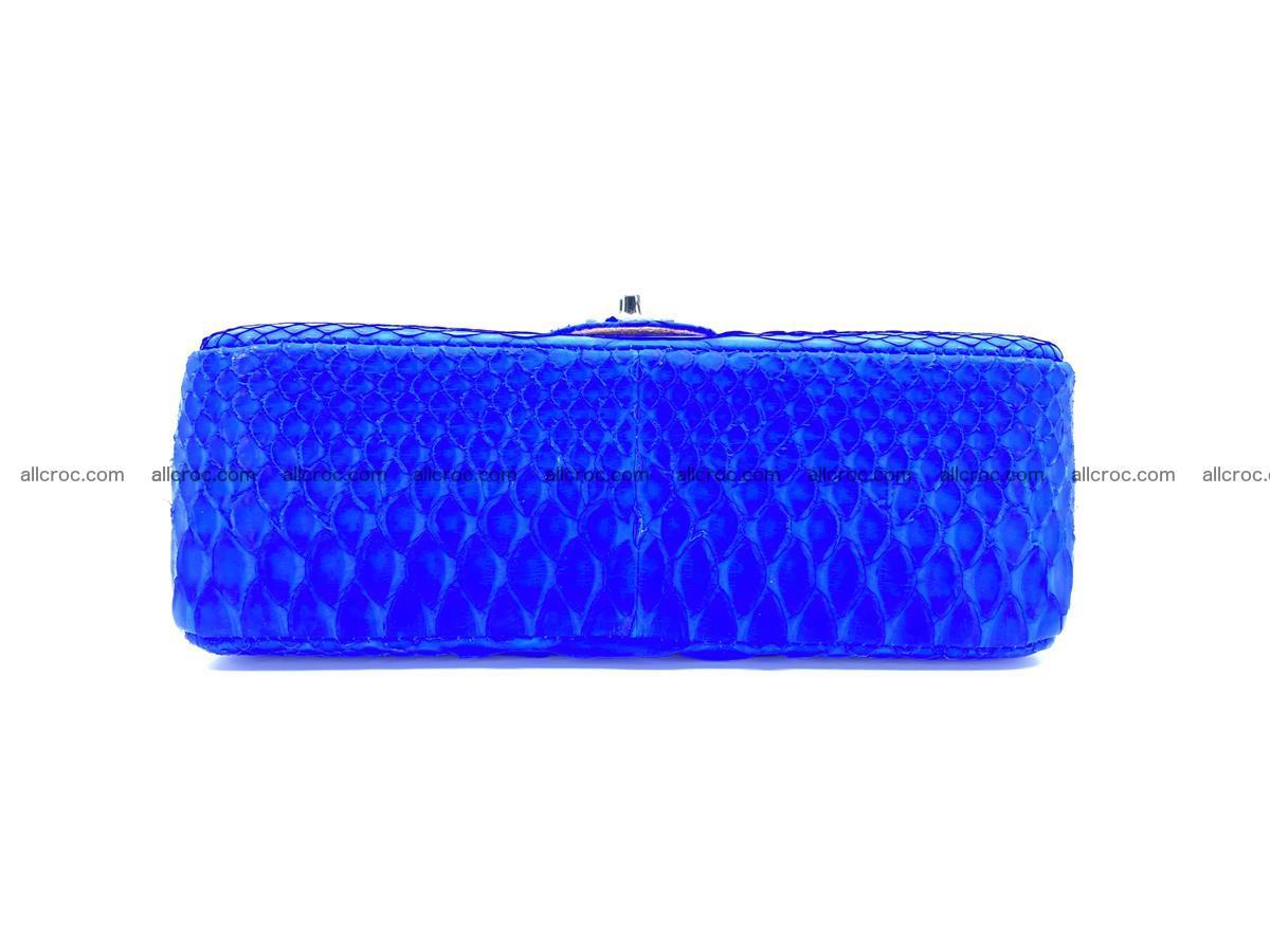 Python snakeskin shoulder bag 1081 Foto 11