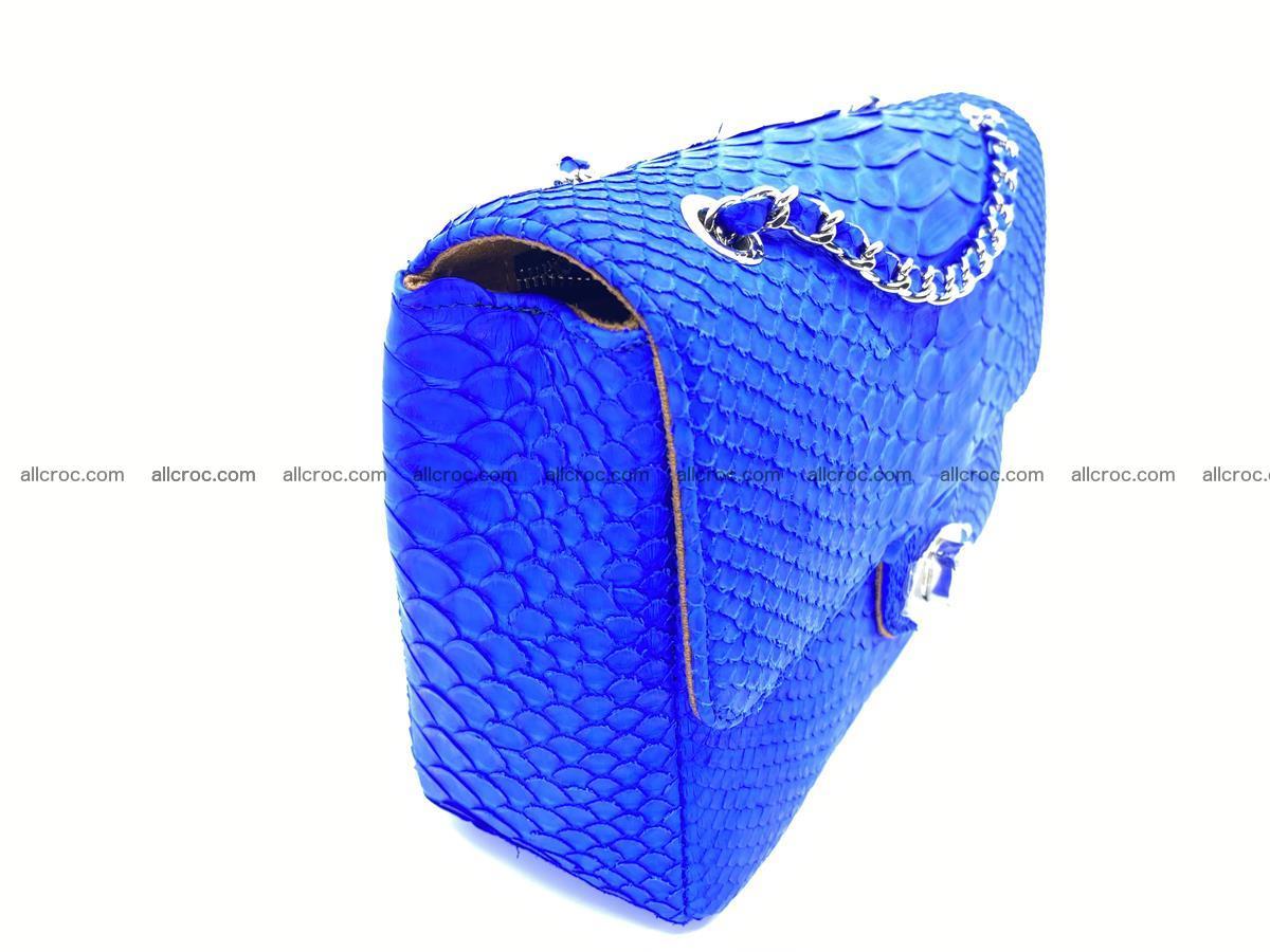 Python snakeskin shoulder bag 1081 Foto 2