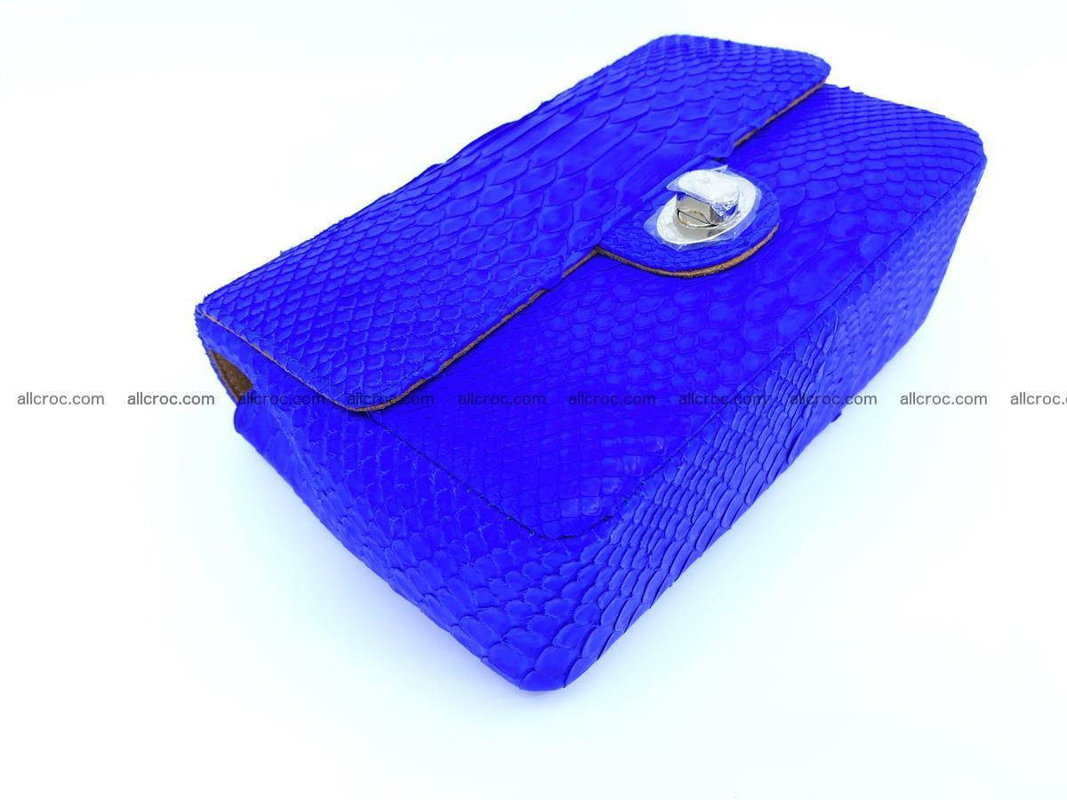 Python snakeskin shoulder bag 1081 Foto 7
