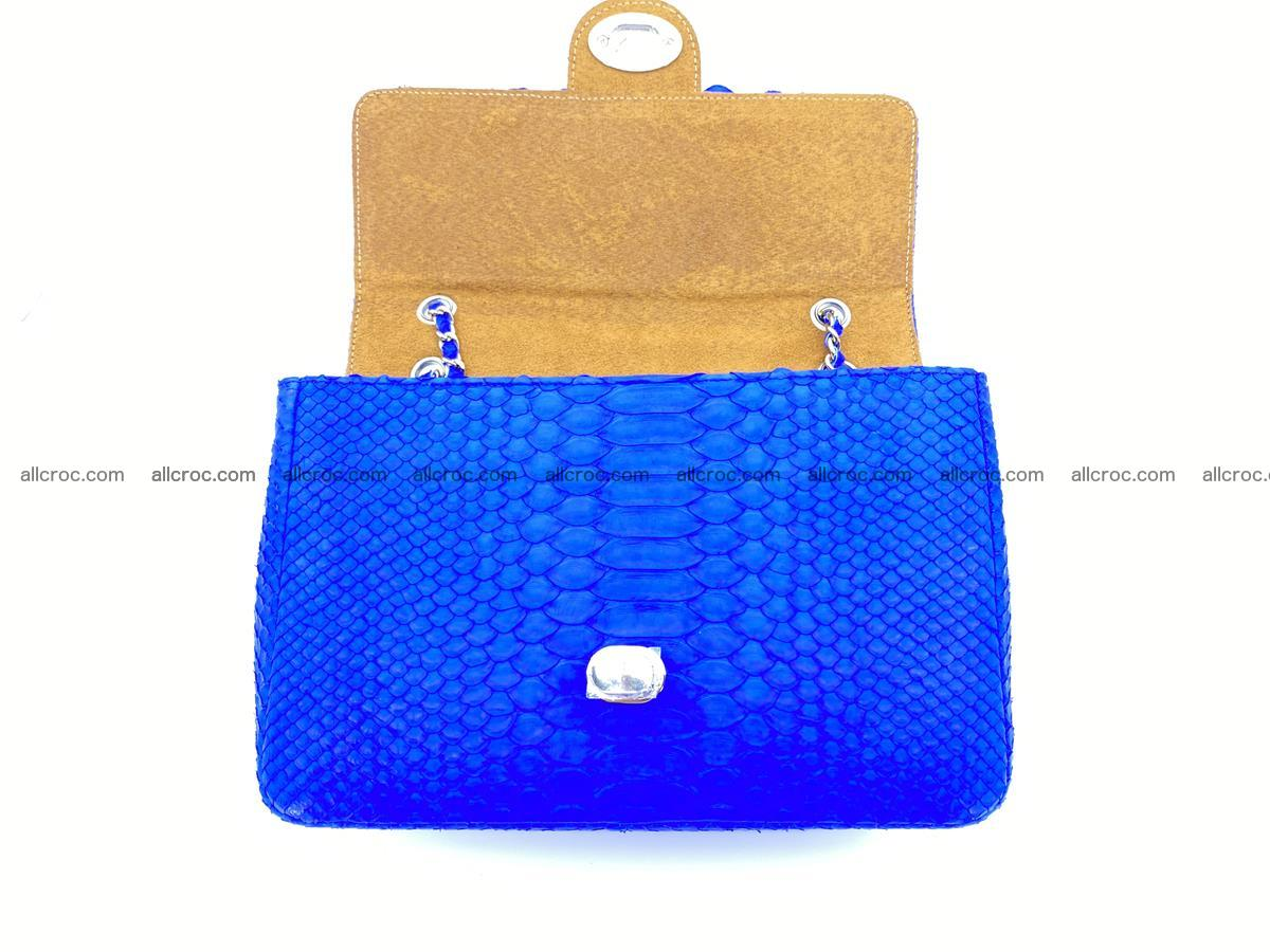 Python snakeskin shoulder bag 1081 Foto 13