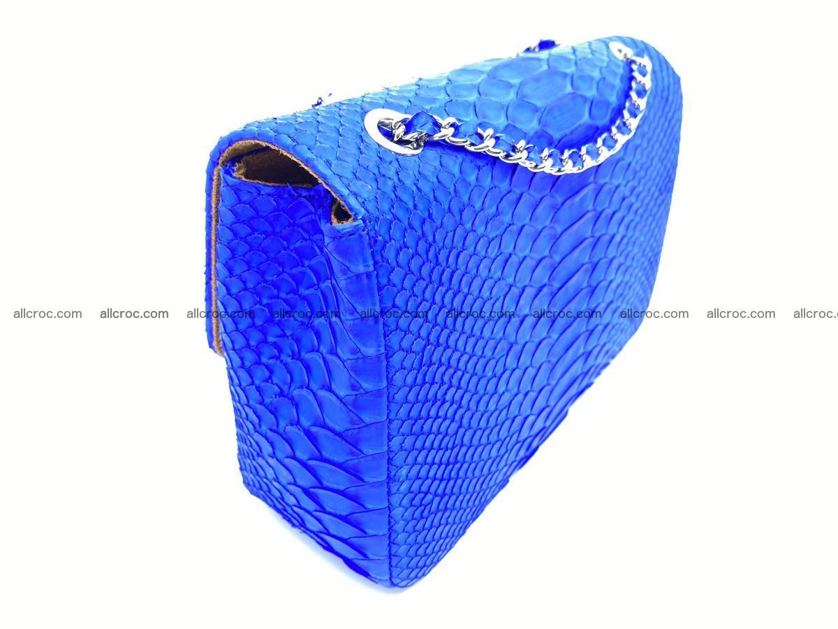 Python snakeskin shoulder bag 1081 Foto 4