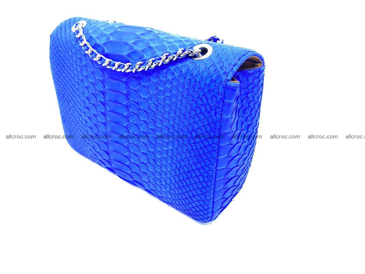 Python snakeskin shoulder bag 1081 Foto 5