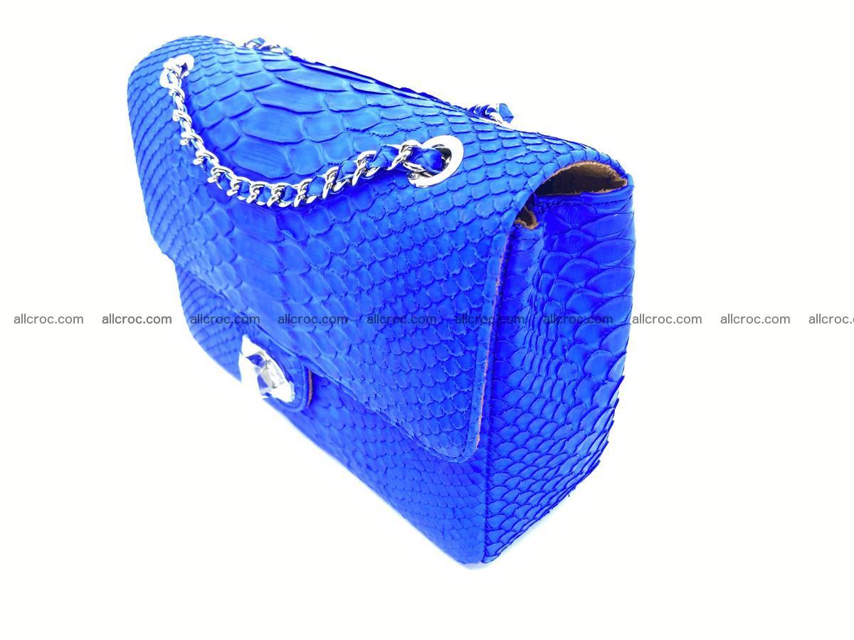 Python snakeskin shoulder bag 1081 Foto 3