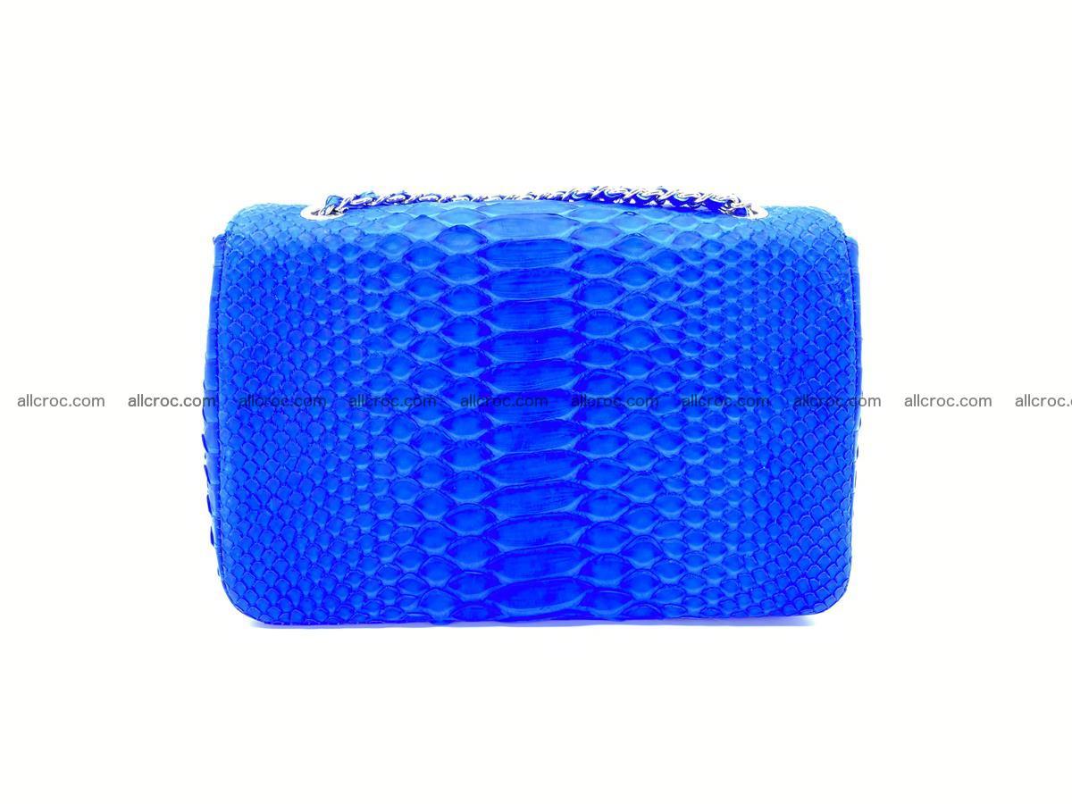 Python snakeskin shoulder bag 1081 Foto 1