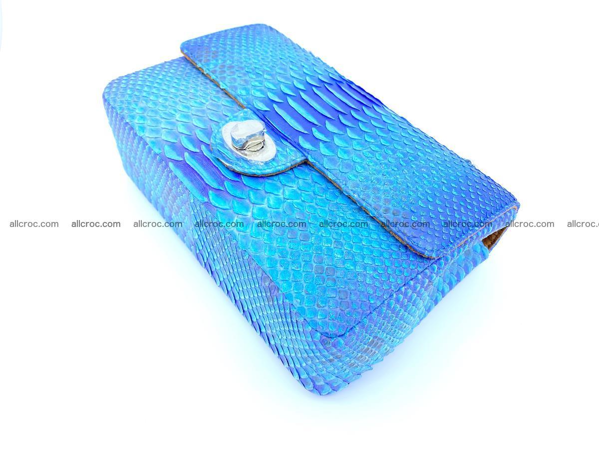 Python snakeskin shoulder bag 1073 Foto 6