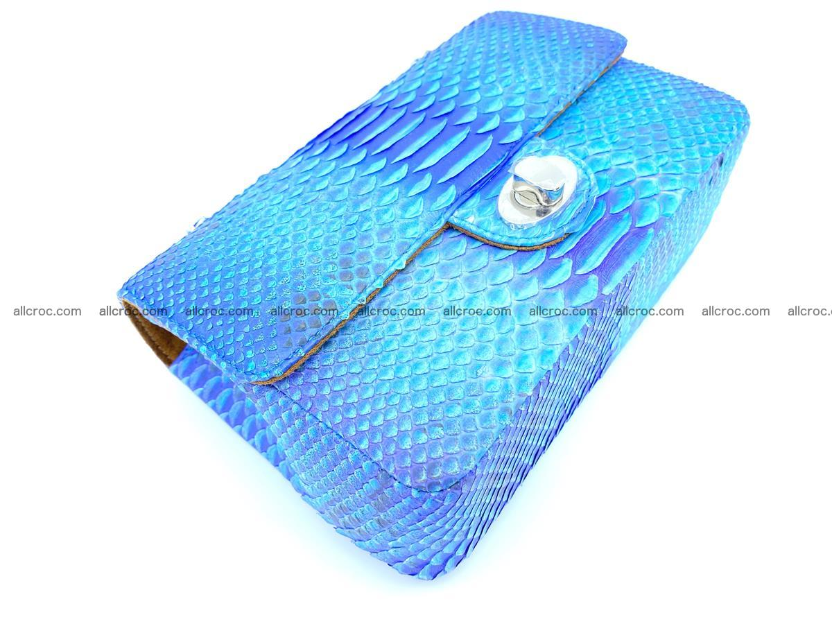 Python snakeskin shoulder bag 1073 Foto 7