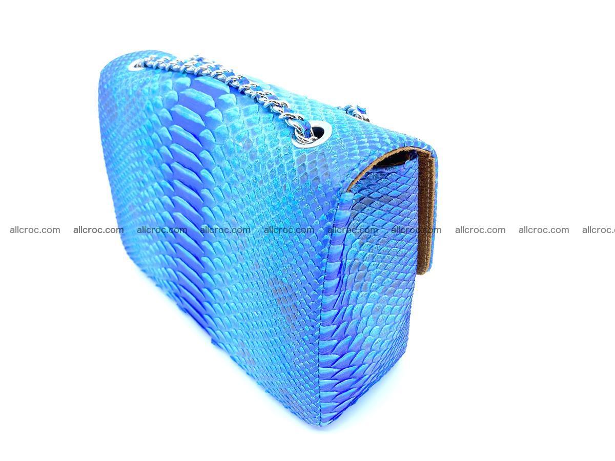Python snakeskin shoulder bag 1073 Foto 4