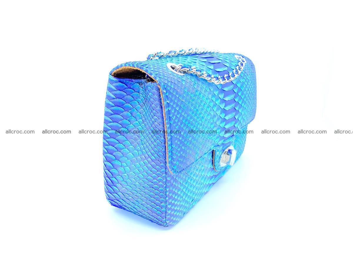 Python snakeskin shoulder bag 1073 Foto 2