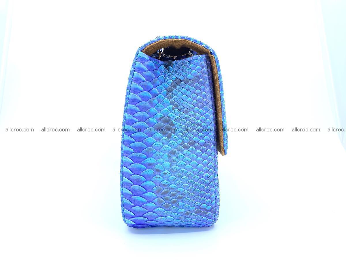 Python snakeskin shoulder bag 1073 Foto 10