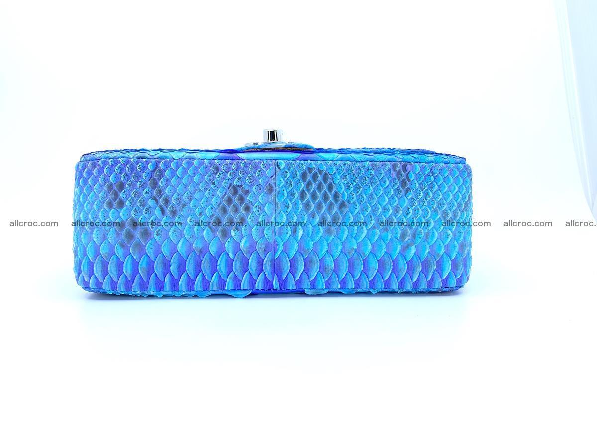 Python snakeskin shoulder bag 1073 Foto 11