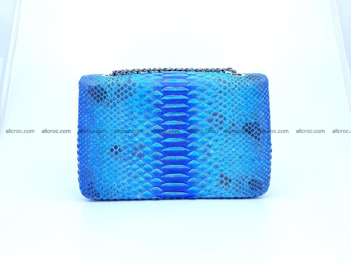 Python snakeskin shoulder bag 1073 Foto 1