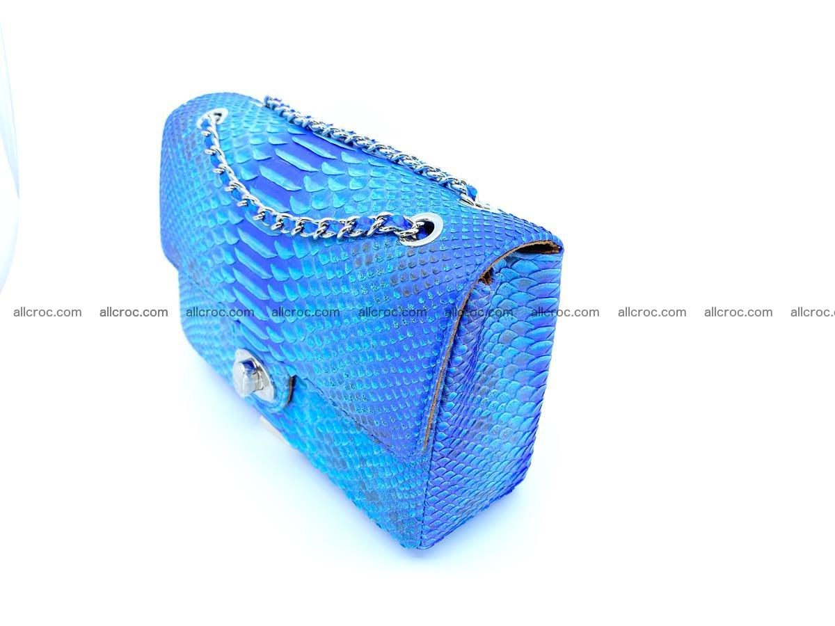 Python snakeskin shoulder bag 1073 Foto 3