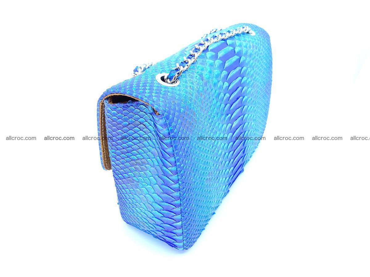 Python snakeskin shoulder bag 1073 Foto 5