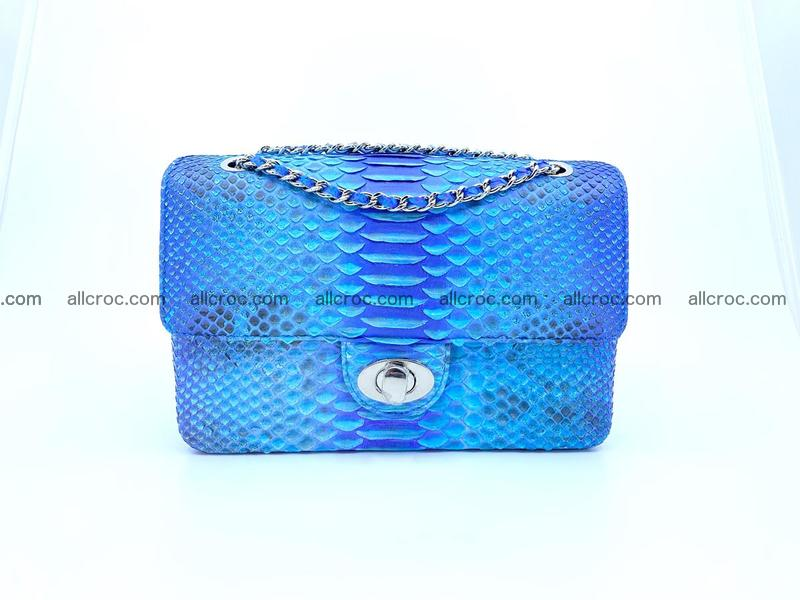 Python snakeskin shoulder bag 1073