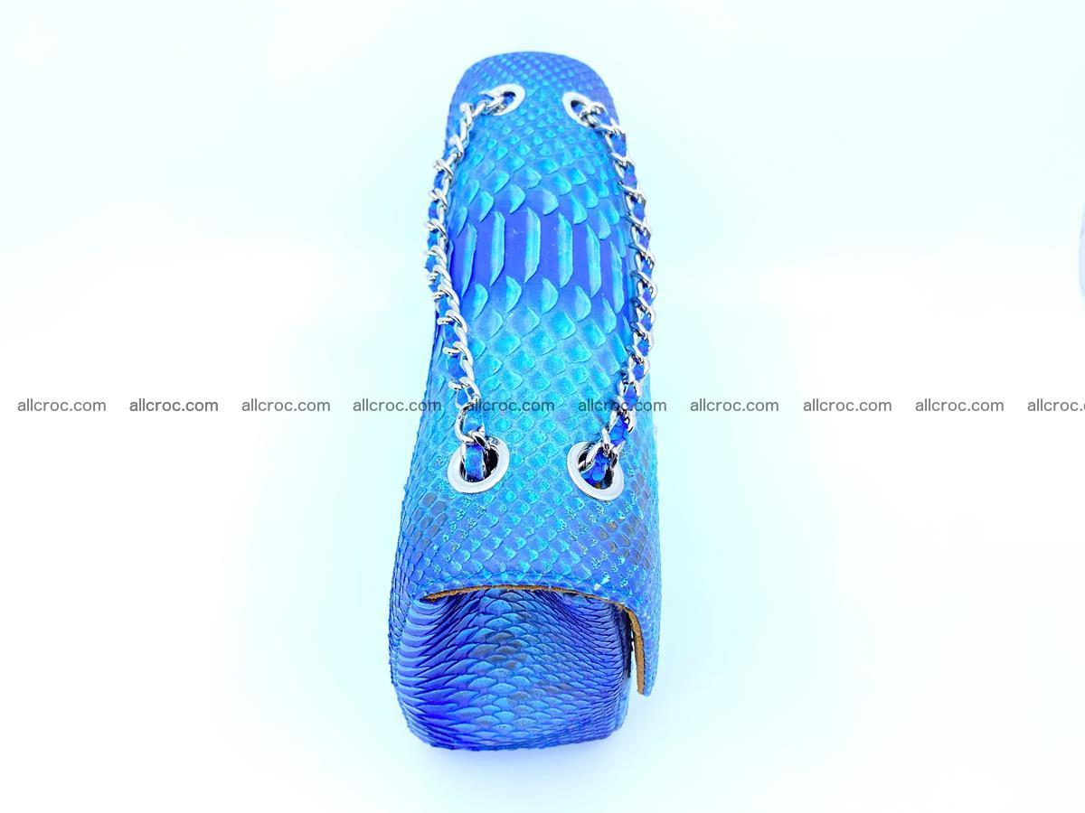 Python snakeskin shoulder bag 1073 Foto 8