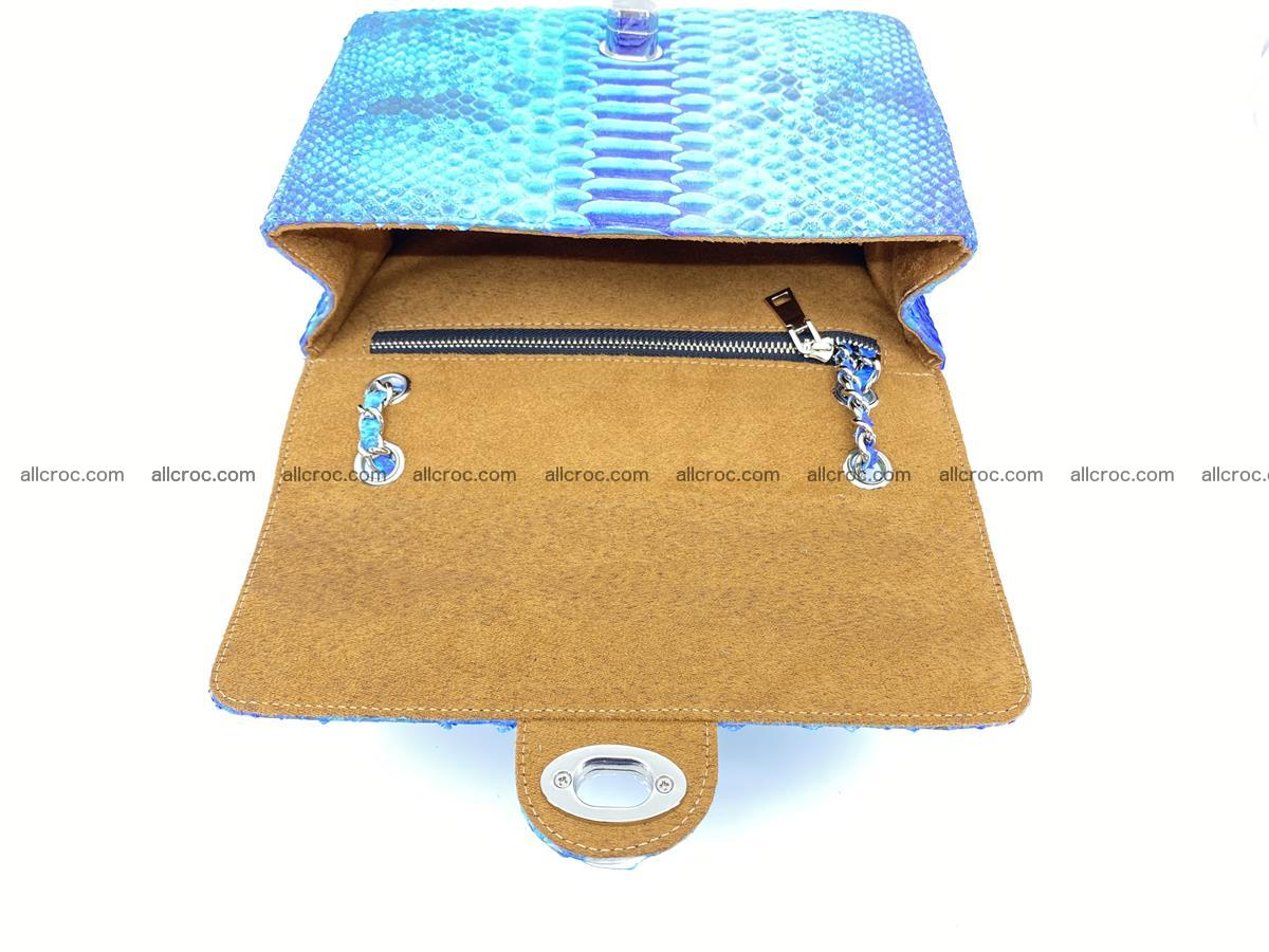 Python snakeskin shoulder bag 1073 Foto 13