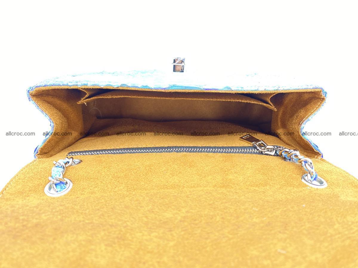 Python snakeskin shoulder bag 1073 Foto 14