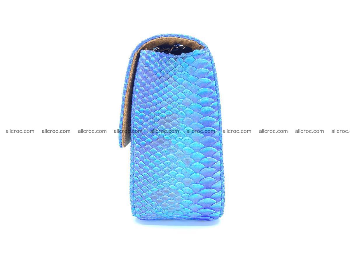 Python snakeskin shoulder bag 1073 Foto 9