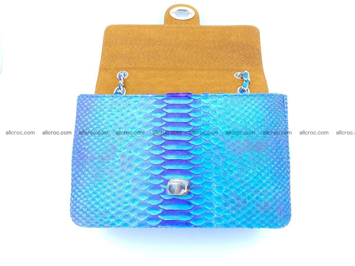 Python snakeskin shoulder bag 1073 Foto 12