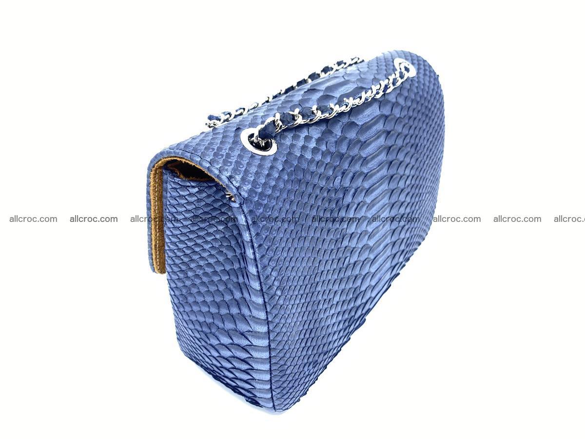 Python snakeskin shoulder bag 1077 Foto 5