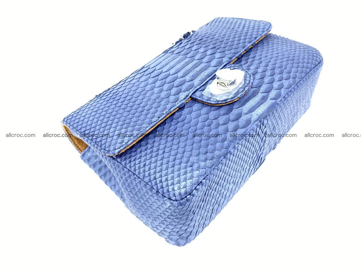 Python snakeskin shoulder bag 1077 Foto 6