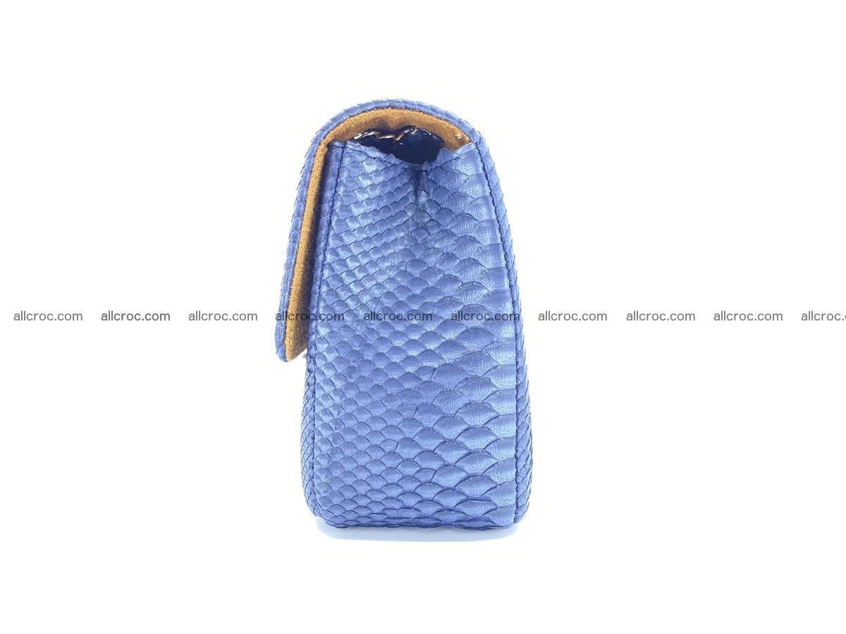 Python snakeskin shoulder bag 1077 Foto 11