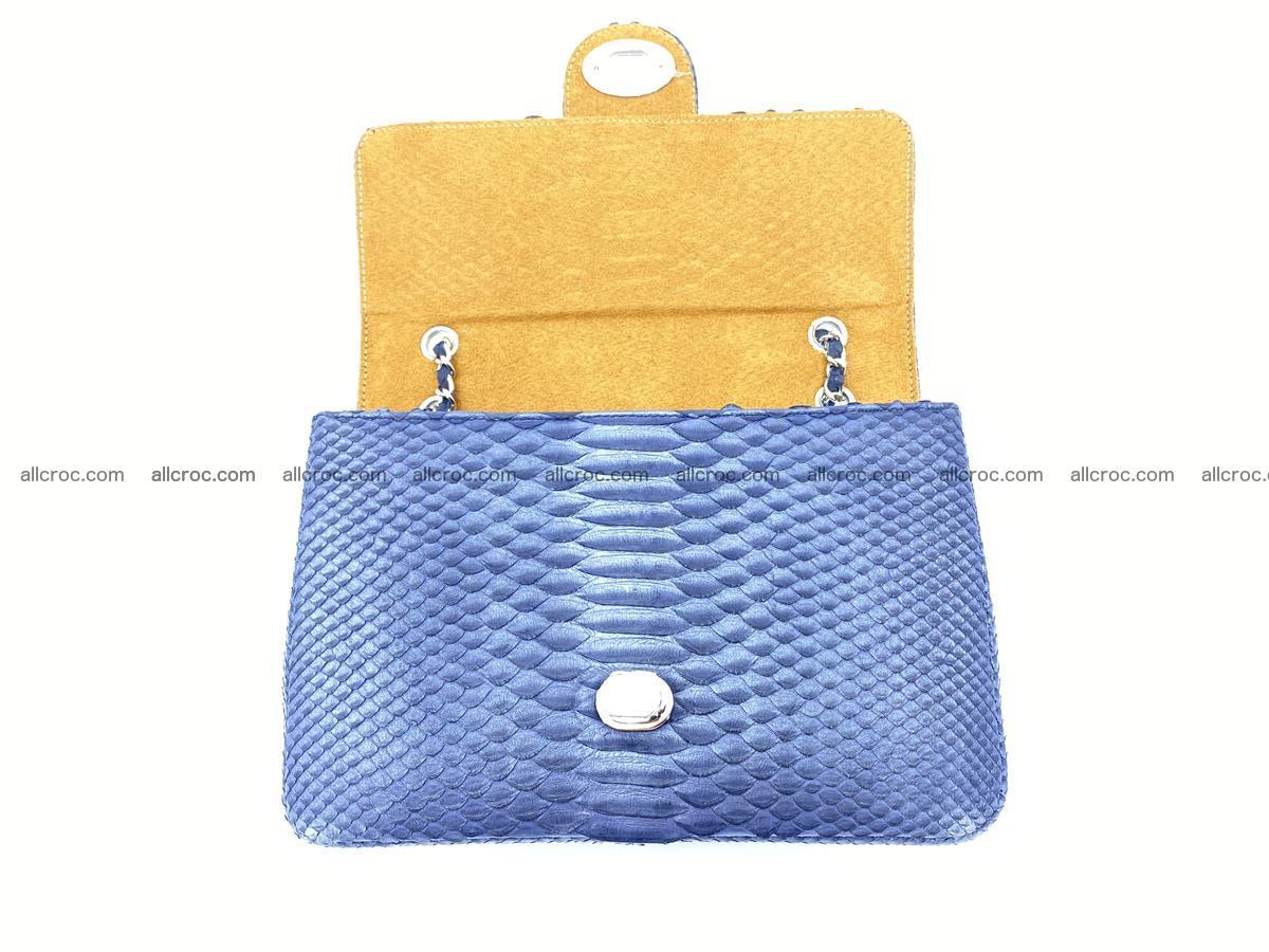 Python snakeskin shoulder bag 1077 Foto 12