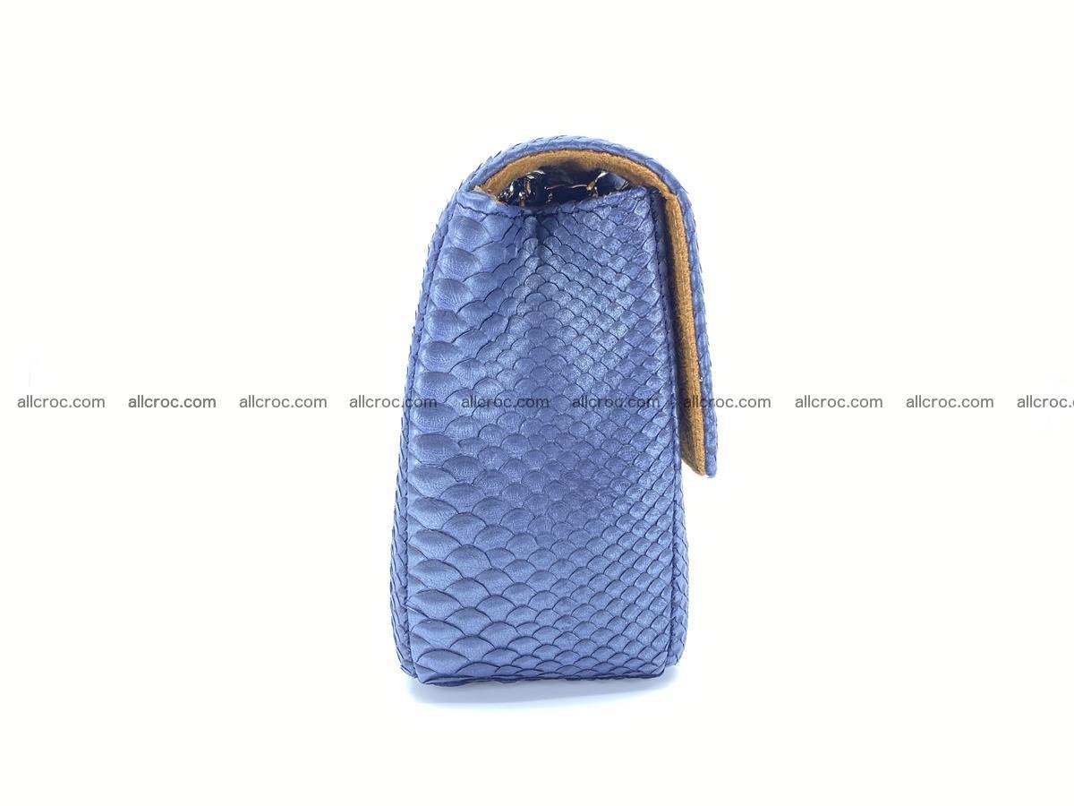 Python snakeskin shoulder bag 1077 Foto 10