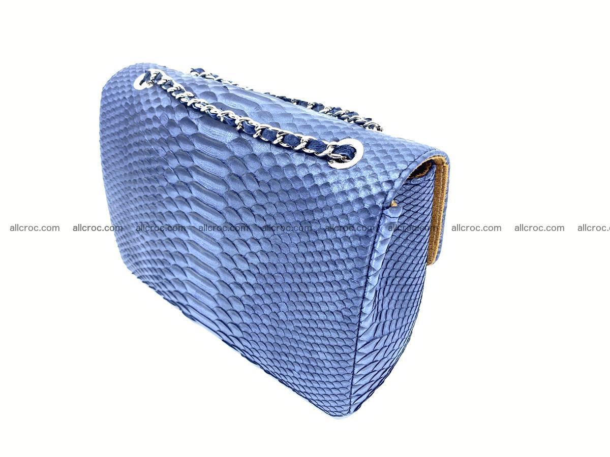 Python snakeskin shoulder bag 1077 Foto 4