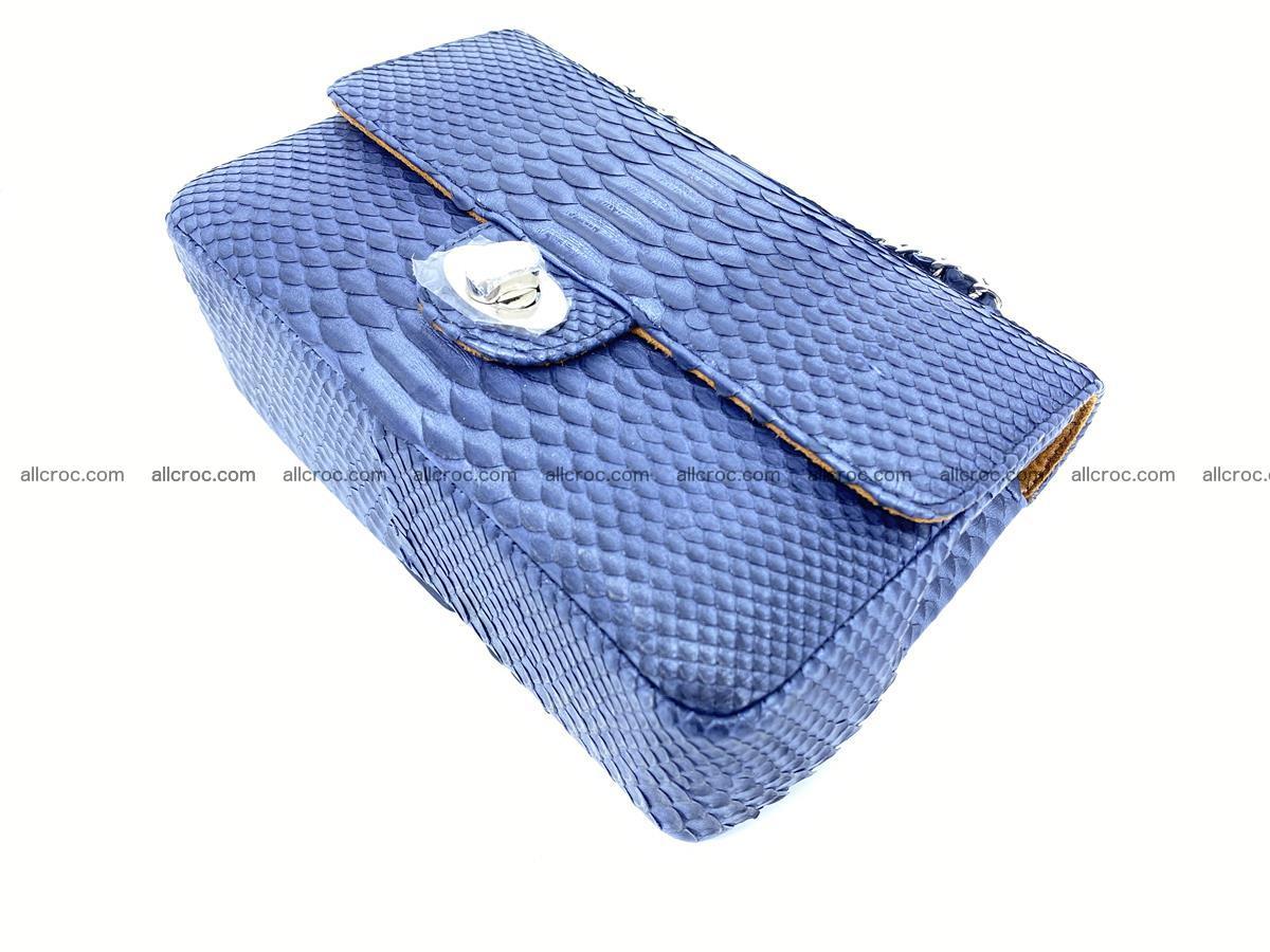 Python snakeskin shoulder bag 1077 Foto 7