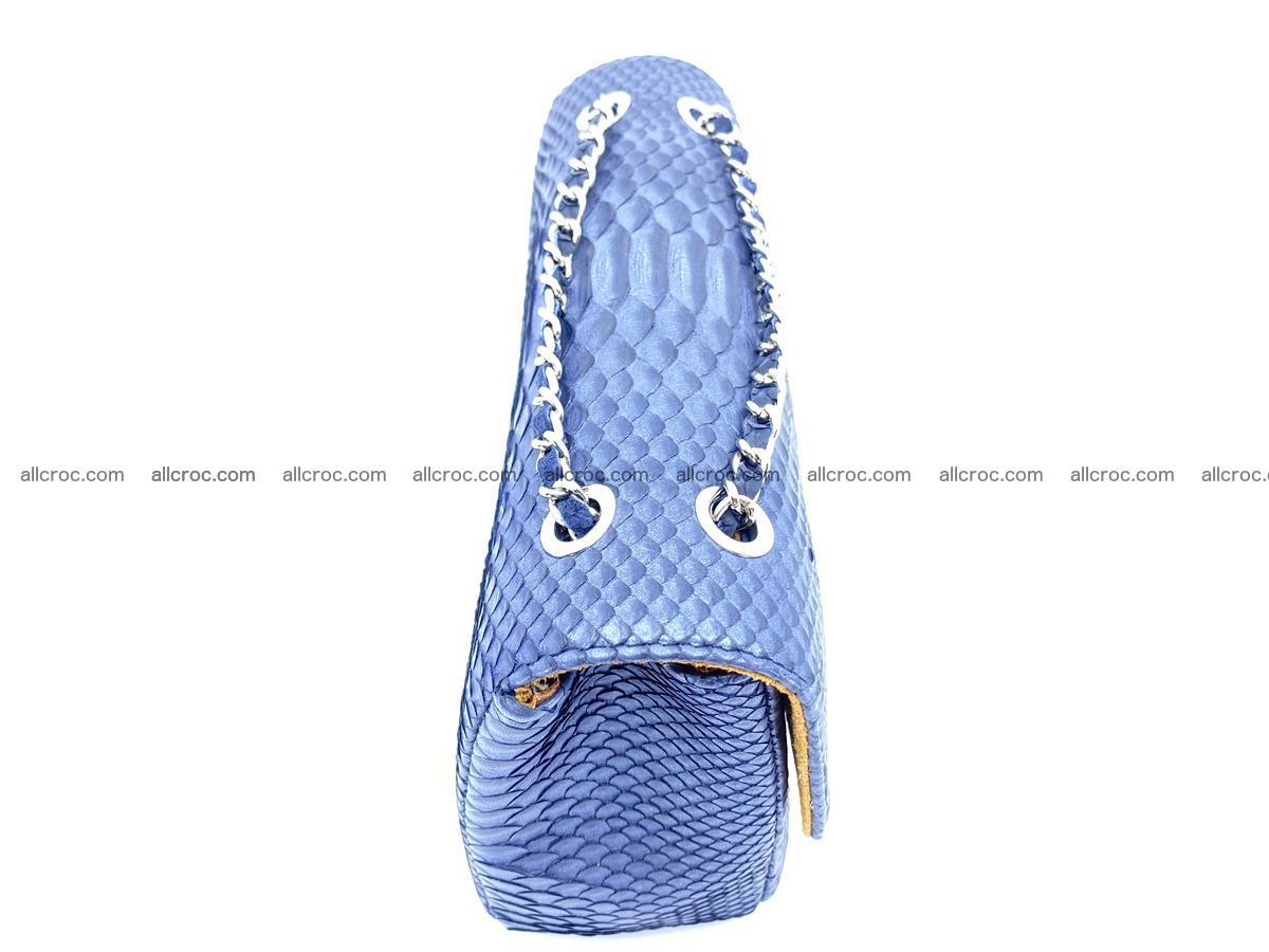 Python snakeskin shoulder bag 1077 Foto 8
