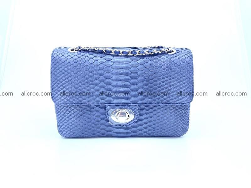 Python snakeskin shoulder bag 1077