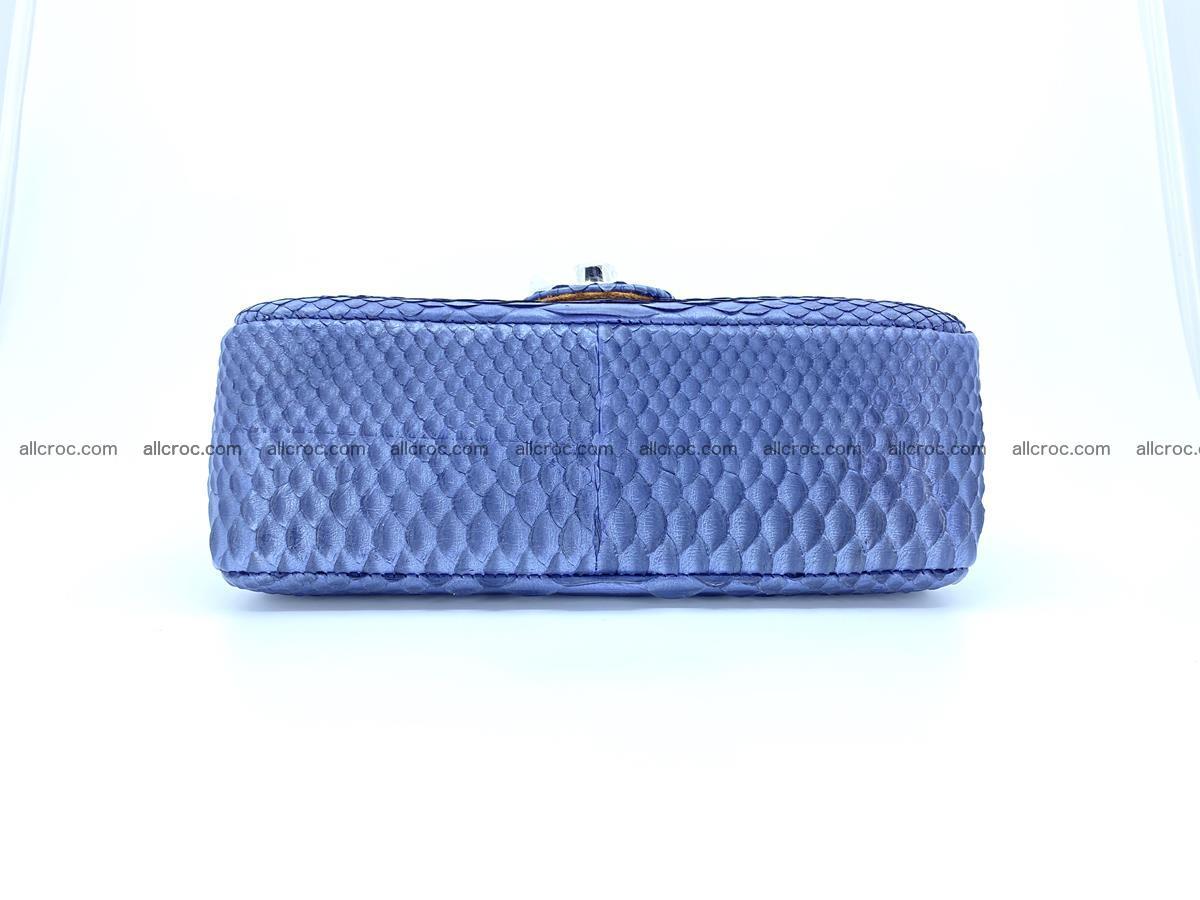 Python snakeskin shoulder bag 1077 Foto 9