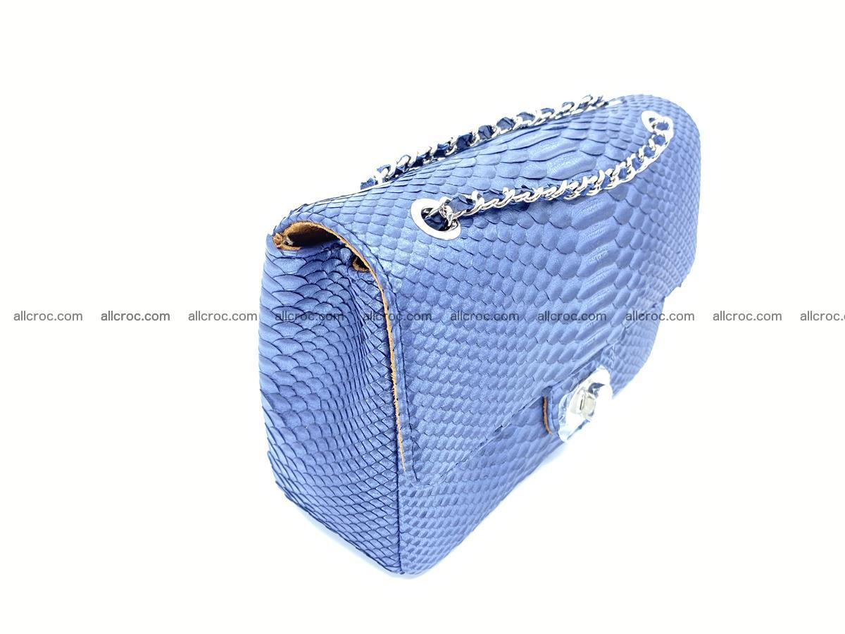 Python snakeskin shoulder bag 1077 Foto 3