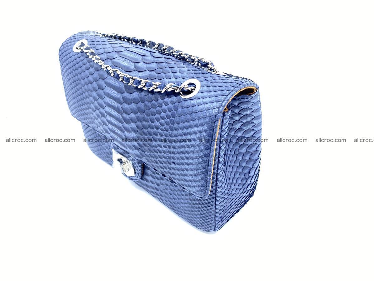 Python snakeskin shoulder bag 1077 Foto 2