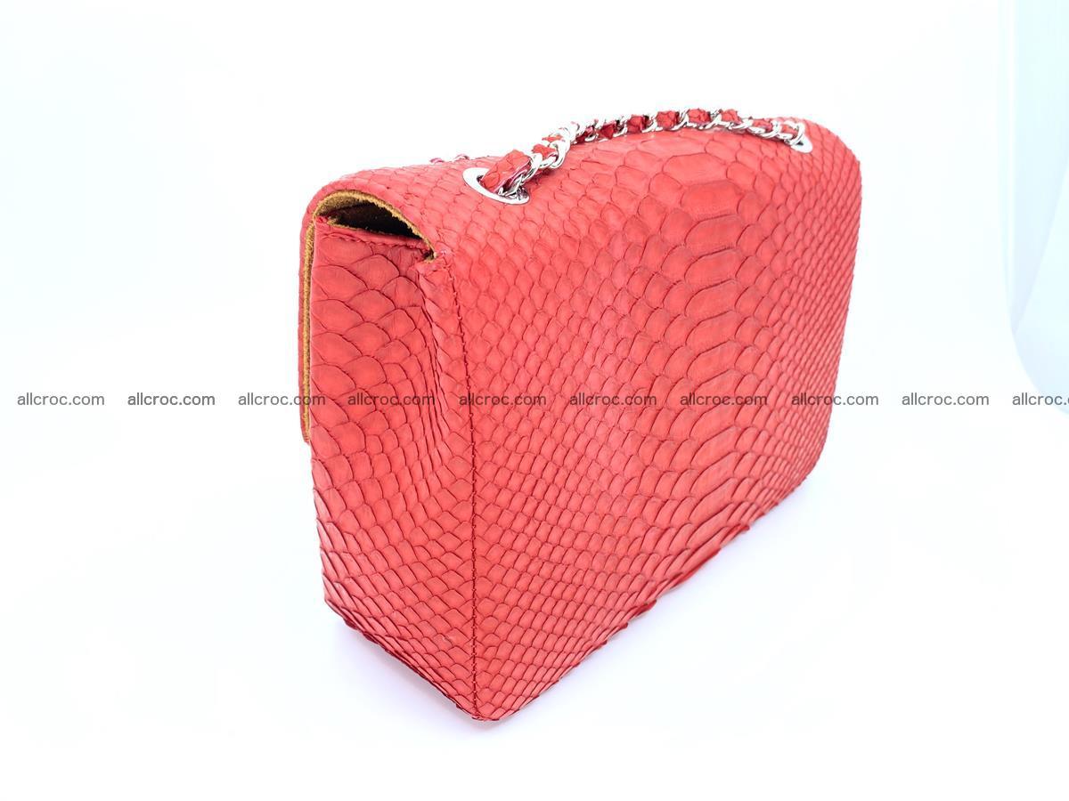 Python snakeskin shoulder bag 1080 Foto 6