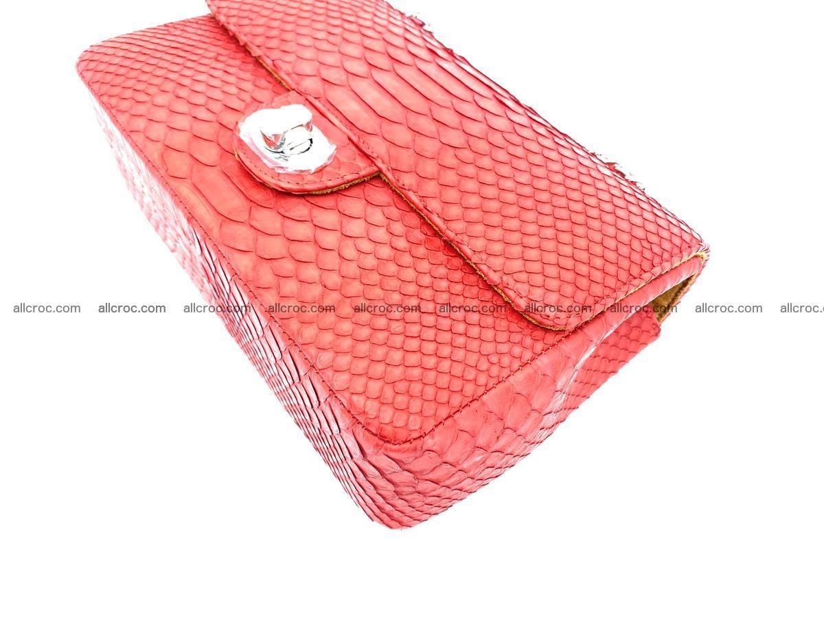 Python snakeskin shoulder bag 1080 Foto 7