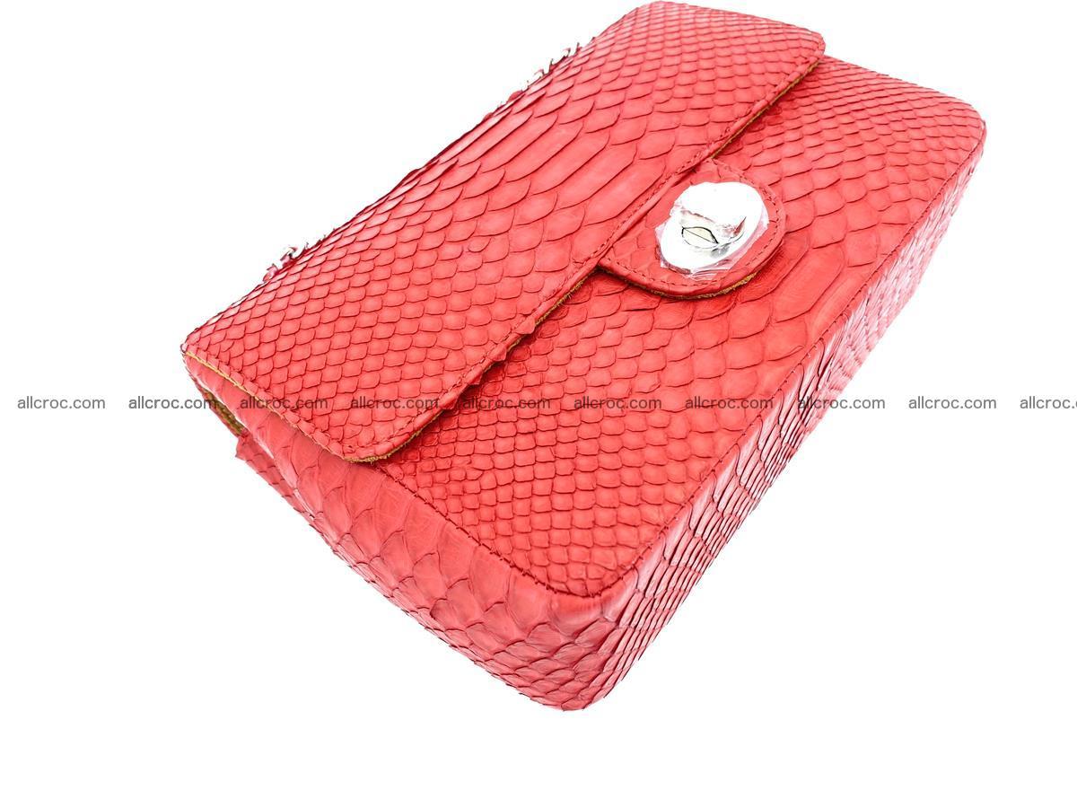 Python snakeskin shoulder bag 1080 Foto 8