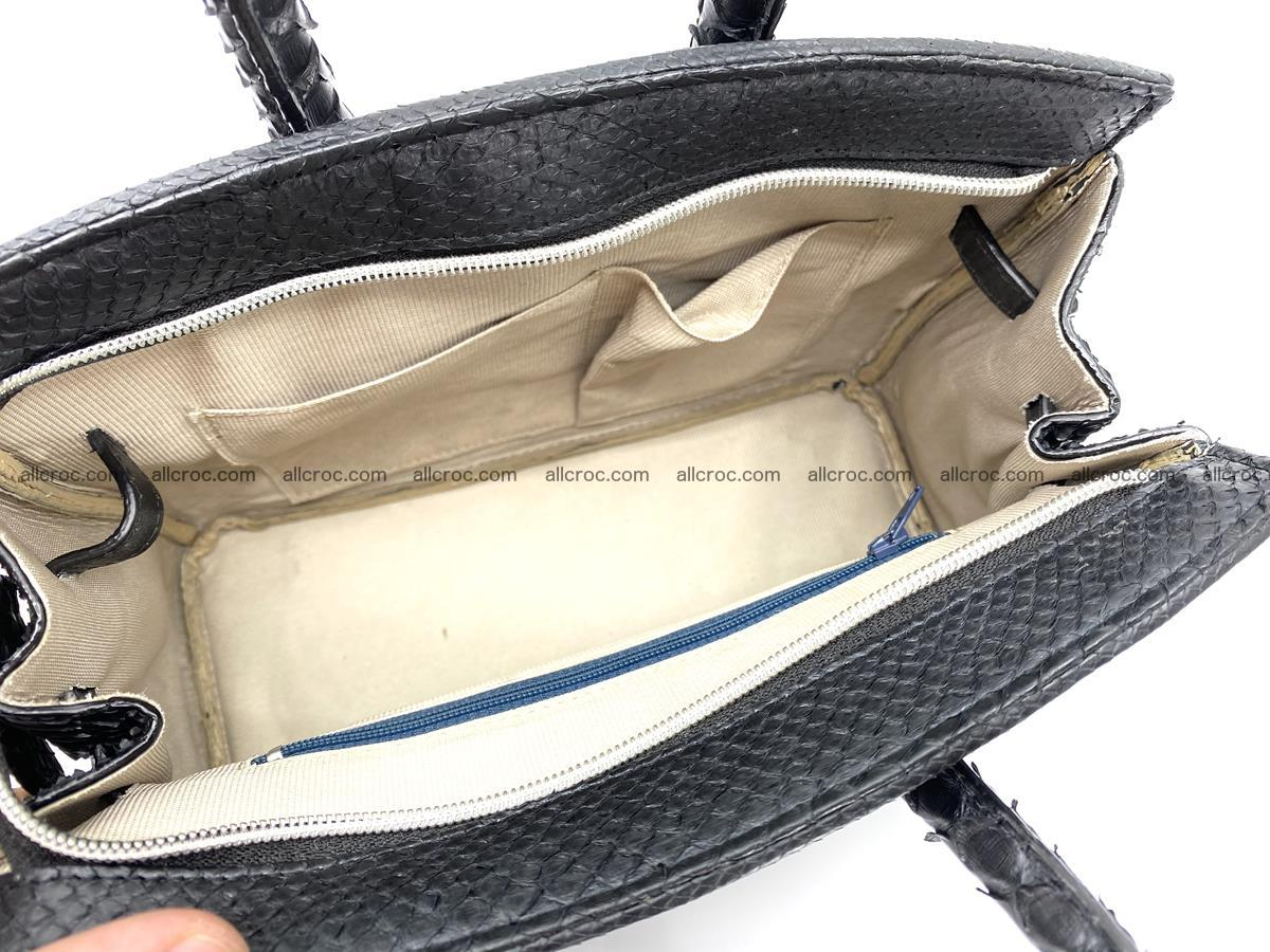 Python snakeskin handbag mini 1068 Foto 10
