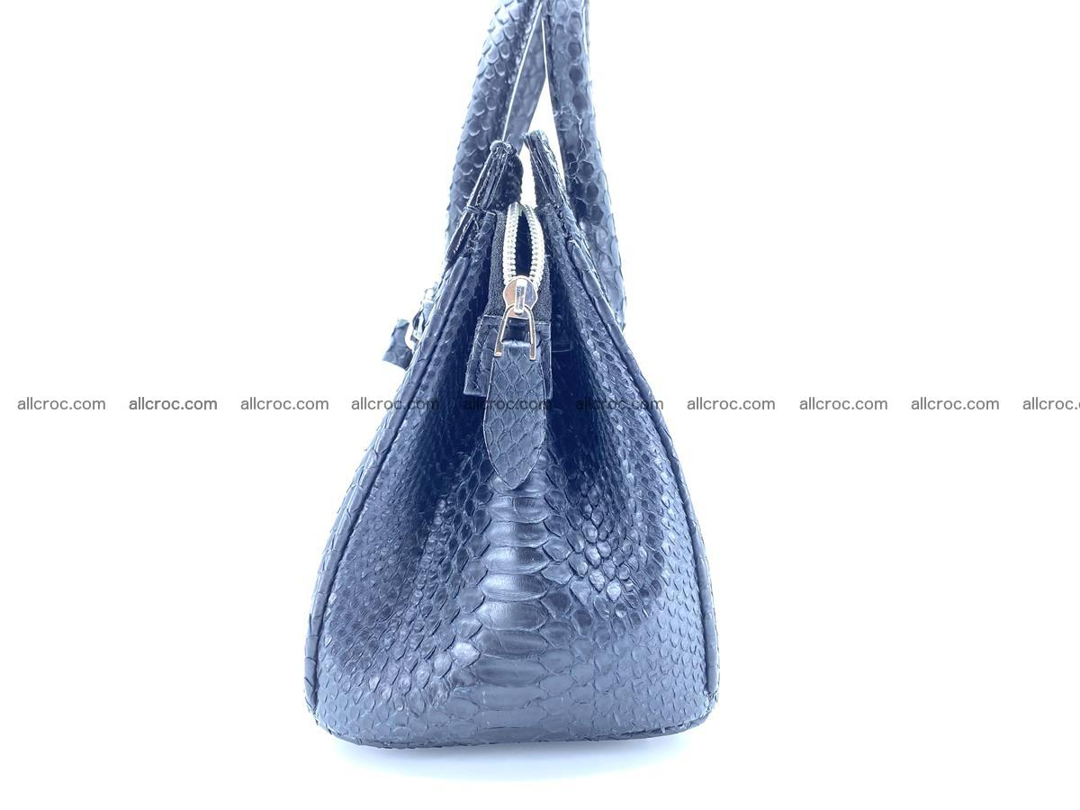 Python snakeskin handbag mini 1068 Foto 6