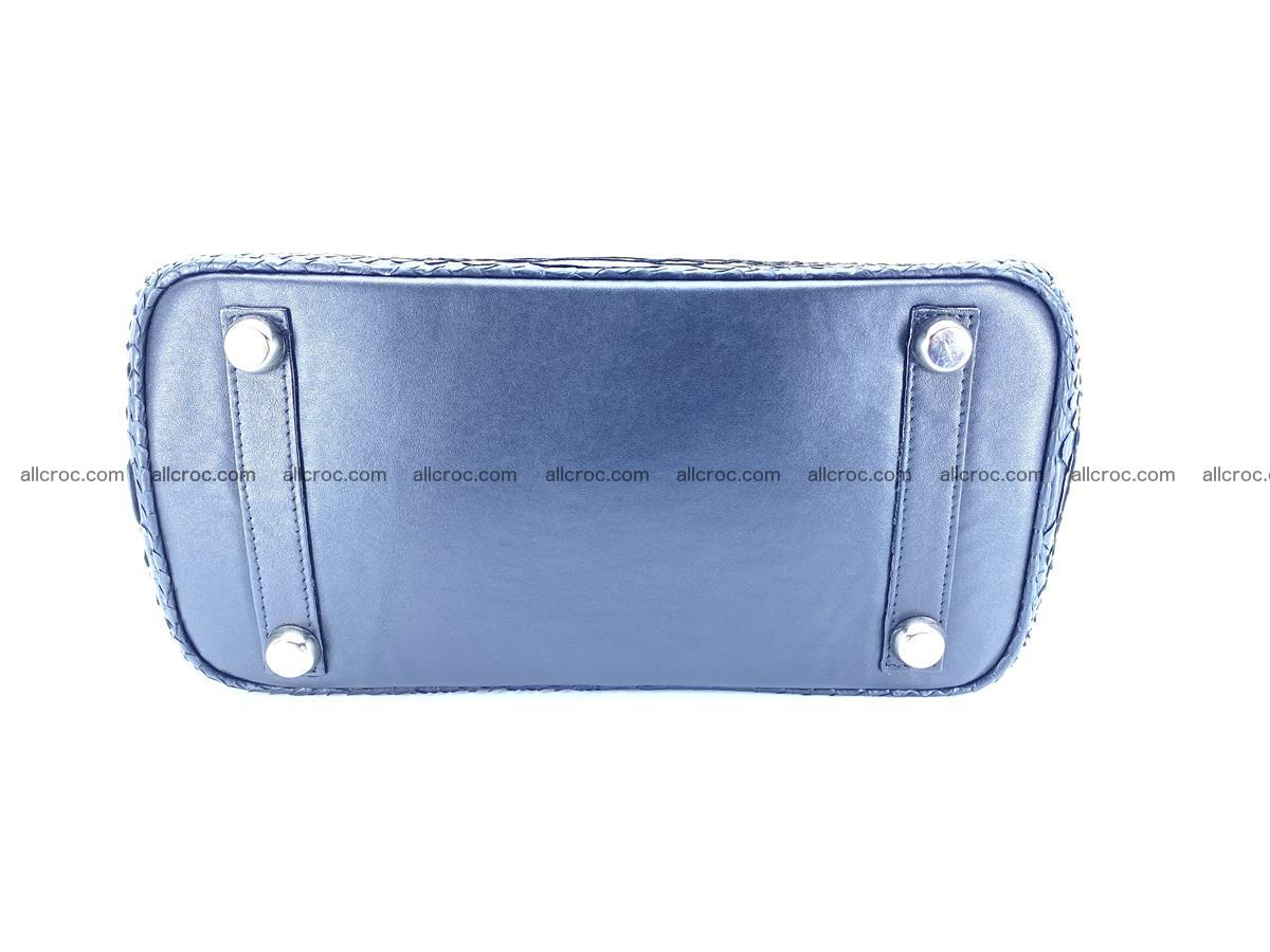 Python snakeskin handbag mini 1068 Foto 8