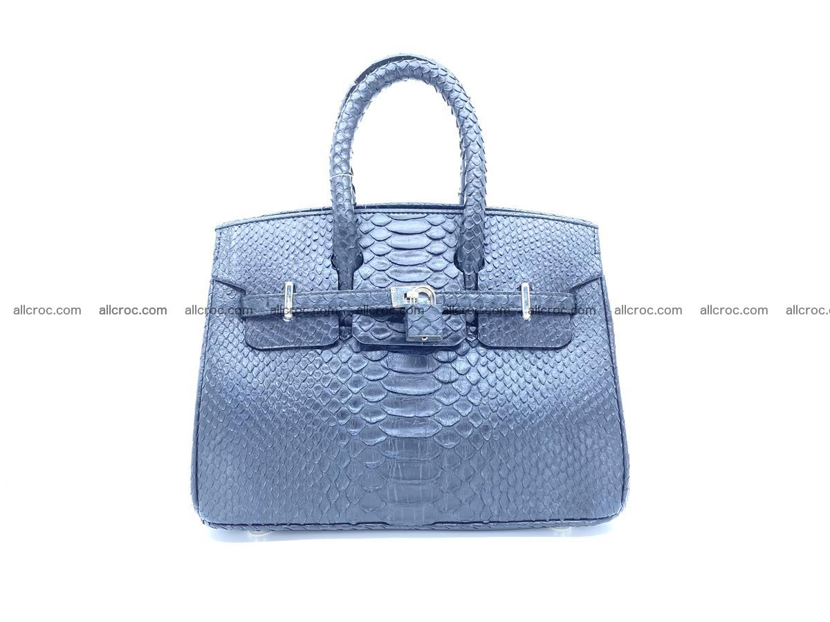 Python snakeskin handbag mini 1068 Foto 0