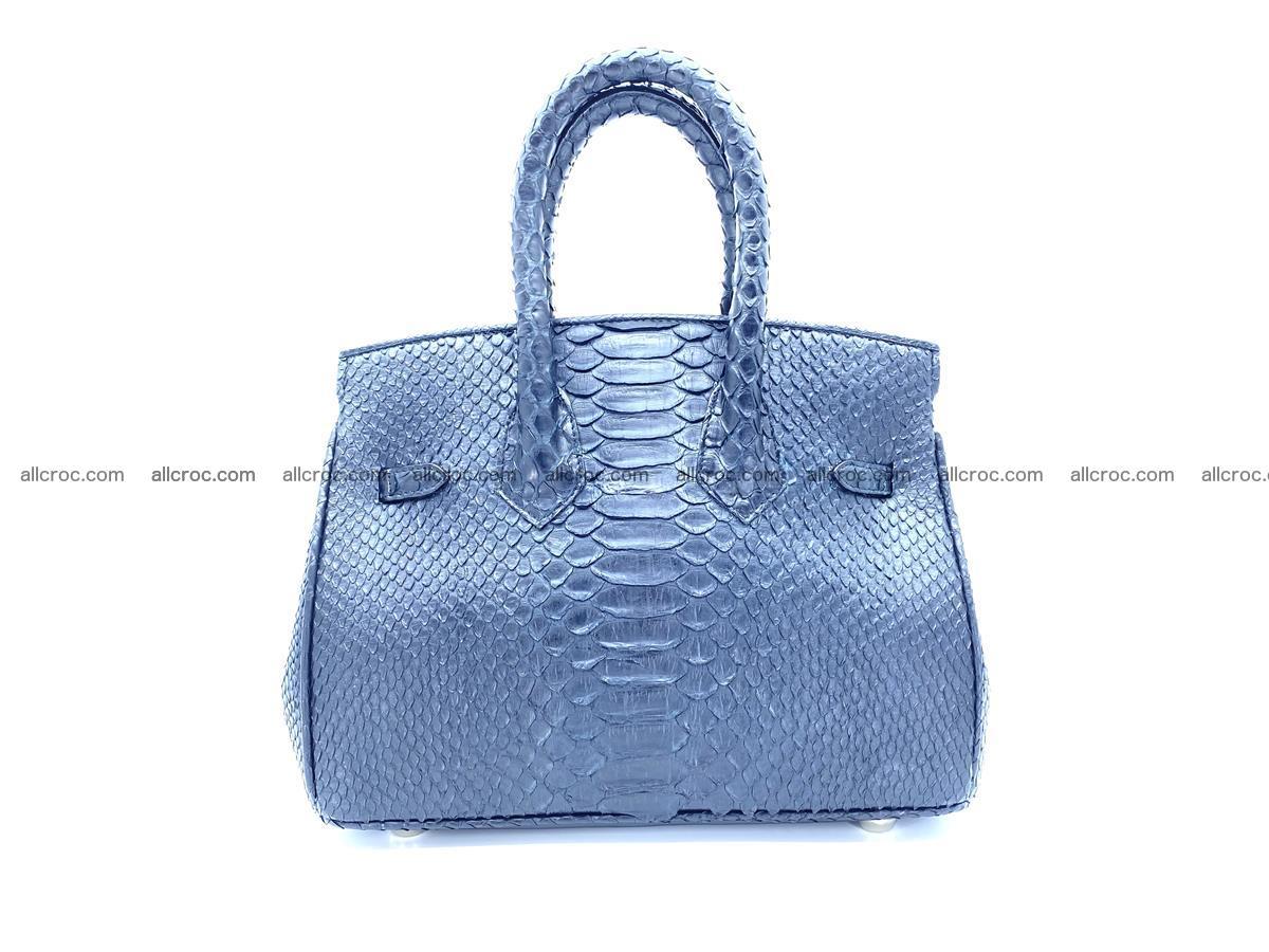 Python snakeskin handbag mini 1068 Foto 1
