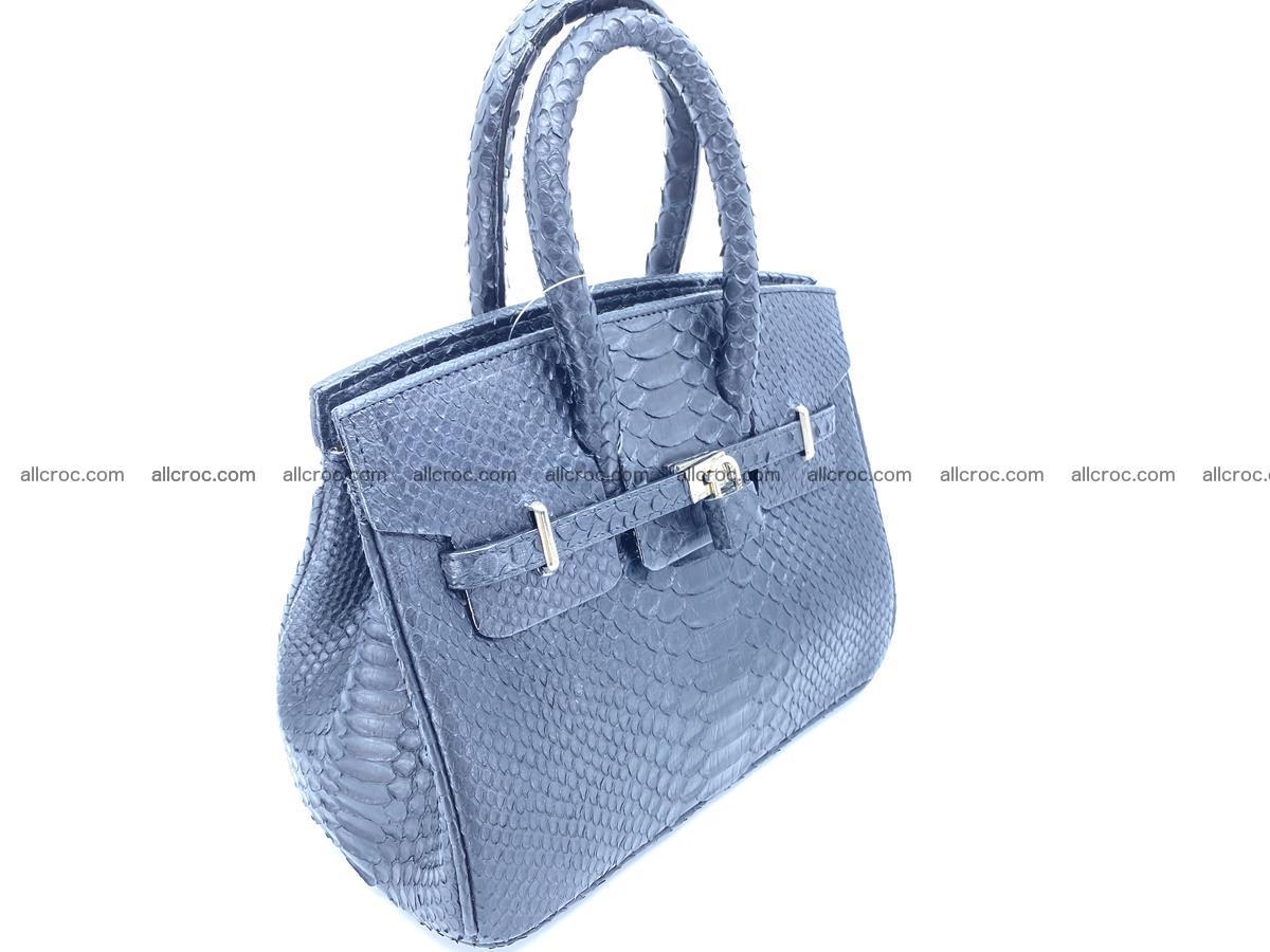 Python snakeskin handbag mini 1068 Foto 2